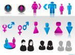 Biểu tượng minh họa  về giới tính