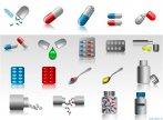 Biểu tượng minh họa về thuốc