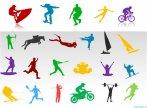 Biểu tượng powepoint các môn thể thao